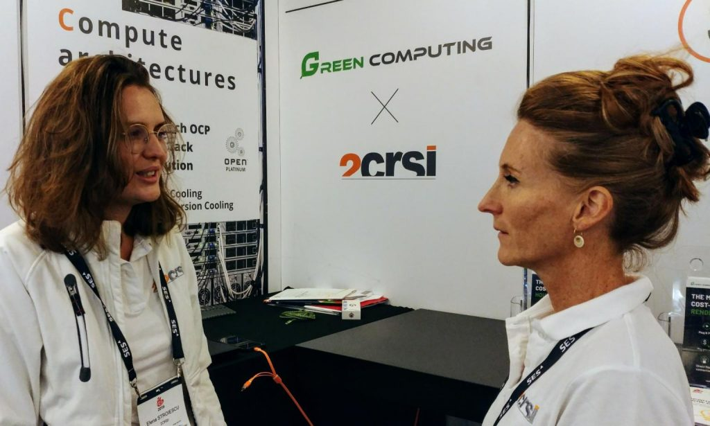 IBC 2019 Elena Stroiescu & Isabelle LeGall