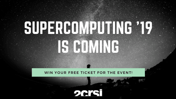 Supercomputing 2019 is coming 2CRSi