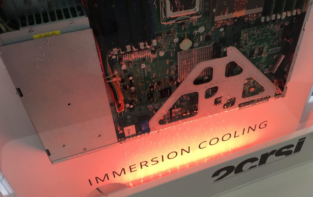 OCP Summit Amsterdam 2019 2CRSi Immersion cooling