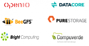 2CRSi Software partners OpenIO DATAcore BeeGFS Pure Storage Bright Computing Compuverde