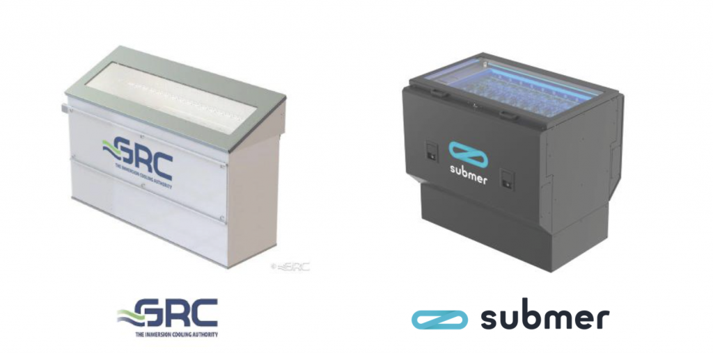 GRC Submer partners immersion cooling 2CRSi