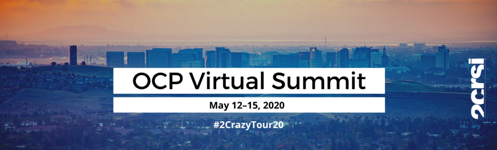 2CRSi OCP Virtual summit 2020 San José