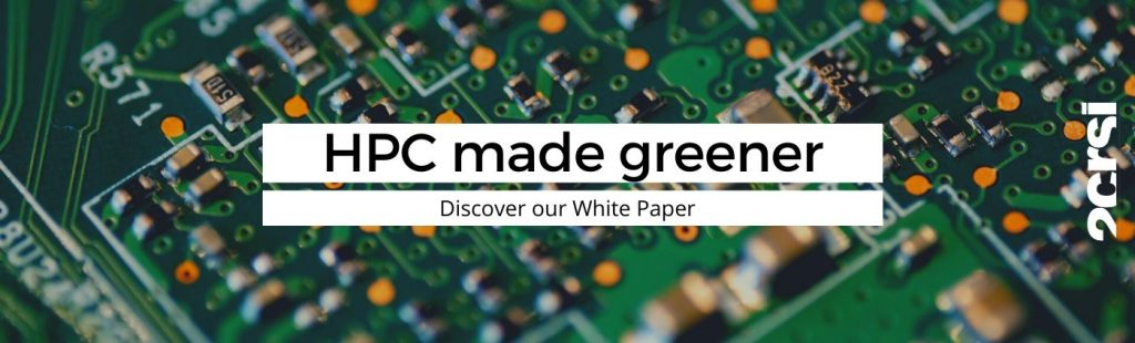 A greener and more efficient HPC : discover how with our new white paper